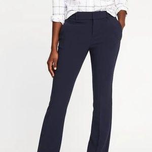 Mid-Rise Slim Flare Harper Full-Length Pants New